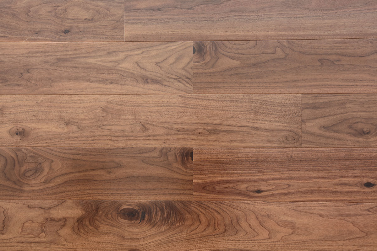 Multiply American Walnut Flooring Wide Planks