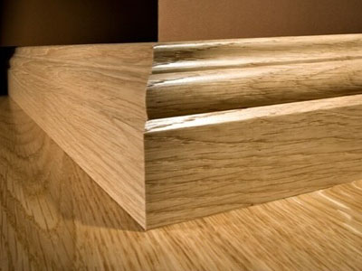 Flooring baseboard lord parquet for Hardwood skirting