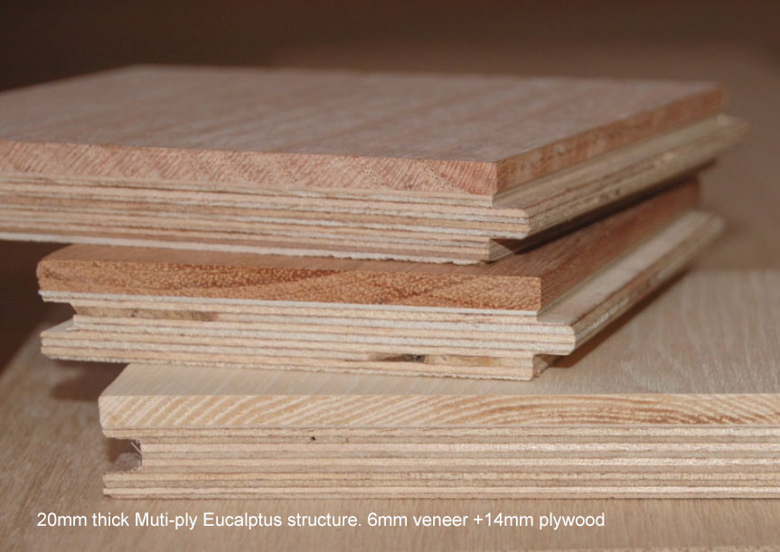 Difference between multi-ply and 3-layer engineered wood flooring
