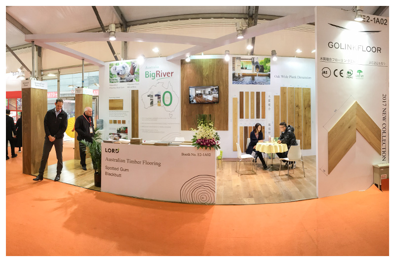 Exhibition Booth Flooring : Domotex asia china floor lordparquet a